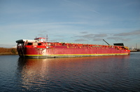 Terra Marique on the Manchester Ship Canal