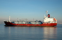 Sigas Silvia IMO 9355135 Built 2007 LPG Tanker Flag Singapore at Eastham
