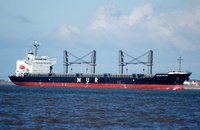 African Halcyon IMO 9343613 20236gt Built 2007 General Cargo Ship Flag Panama