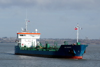 Bro Granite IMO9266425 4107gt Built 2004 Oil Products Tanker Flag Netherlands 14/3/10