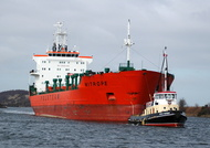 Mitrope IMO 9154294 11530gt Built 1999 Chemical Tanker Flag Malta 14/3/10