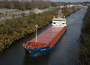Suderau IMO 9313682 2461gt Built 2005 General Cargo Ship on the Manchester Ship Canal April 7th 2010