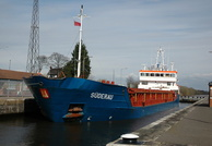 Suderau IMO 9313682 2461gt Built 2005 General Cargo Ship at Latchford Locks 7/4/10