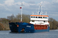 Suderau IMO 9313682 2461gt Built 2005 General Cargo Ship approaching Latchford Locks