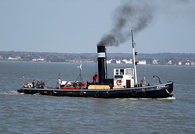 Steam Tug Kerne on the Mersey 17/4/2010