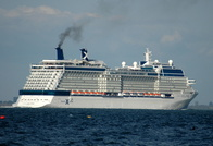 Celebrity Eclipse passes Cowes