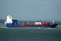 Ice Runner IMO 9440605 7545gt Built 2008 Container Ship 15/7/2010