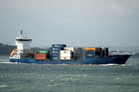 Gotaland IMO 9287704 2578gt Built 2003 Container Ship 16/7/2010