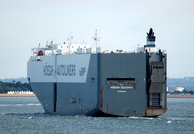 Hoegh Oceania IMO 9267663 58947gt Built 2003 Vehicles Carrier 17/7/2010