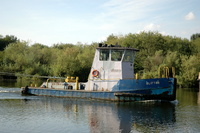 Clifton Built 1974 on the Manchester Ship Canal at Thelwall