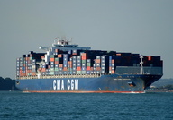 CMA CGM Nabucco IMO 9299630 91410gt Built 2006 Container Ship