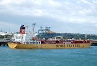Tankers along side Fawley