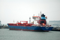 Maersk Erin IMO 9274628 26634gt Built 2004 Chemical/Oil Products Tanker ex Bro Erin