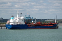 Maersk Nordenham  IMO 9305178 11935gt Built 2004 Chemical/Oil Products Tanker Flag Malta at Fawley