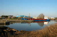 Linnau at Latchford Manchester Ship Canal