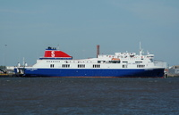 Lagan Seaways IMO 9329849 27700gt Built 2005 Passenger/Ro Ro Ship