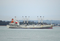 Chikuma Reefer IMO 9184536 7367gt Built 1998 Refrigerated Cargo Ship