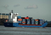 Perseus J  IMO 9371414 Built 2007 Container Ship