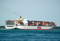 OOCL Luxembourg IMO 9417270 89097gt Built 2010 Container Ship