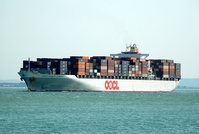 OOCL Kuala Lumpur IMO 9367176 66600gt Built 2007 Container Ship