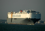 Hoegh Treasure IMO 9184859 58684gt Built 1999 Car Carrier
