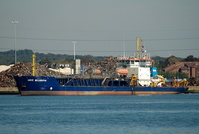 UKD Bluefin IMO 9143427 4171gt Built 1997 Hopper Dredger