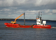 Admiral Day IMO 7110555 355gt Built 1971 Hopper Dredger