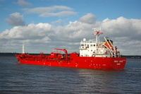 Brovig Cierzo IMO 9518804 3000gt Built 2011 Chemical/Oil Tanker
