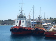 Tugs Posdon and Herakles Star