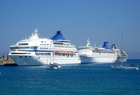 Cruise Ships at Rhodes