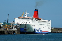 Stena Europe at Fishgaurd