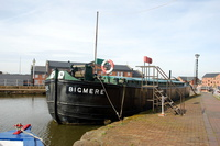 Bigmere Built 1948 was owned by Bridgewater Dept of Manchester Ship Canal for transporting grain