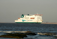 Isle of Inishmore arriving for Cammel Lairds 15th Jan 2012
