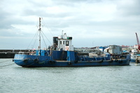 Gypsey Race IMO 5285514 Dredger Built 1940 ex Essex Lady at Bridlington