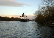Stolt Puffin passing Thelwall Ferry