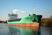 Arklow Flair on the Manchester Ship Canal 3rd Feb 2012