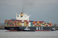 MSC Alyssa IMO 9235050 43575gt Built 2001