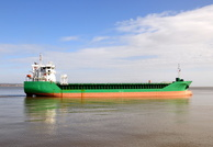 Arklow Fortune at Eastham inward for Manchester