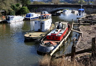 Tugs Appleton and Northwich at Acton Bridge River Weaver