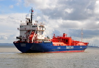 Saargas IMO 9135781 3932gt Built 2001 LPG Tanker at Eastham