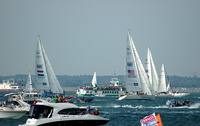 Start of round the world Clipper Race