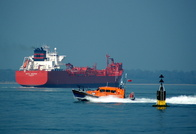 Tanker Betty Knutsen and RNLI