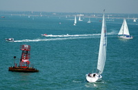 Yachting on the Solent Calshot Spit