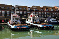 Jack James & Guy James of J Butcher & Sons