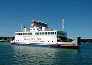 Wight Sun arriving Yarmouth