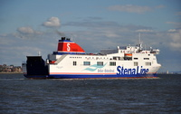 Stena Lagan arriving 12 Quays