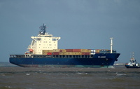 ER Albany IMO 9116369 30280gt Built 1996 Container Ship