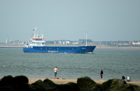 Pollux passing New Brighton