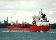 Zircone IMO 9010929 5045gt Built 1993 Chemical/Oil Products Tanker