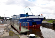 Monica IMO 8810750 at Latchford Locks